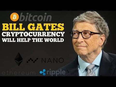 Bill gates says cryptocurrencies are the future of money